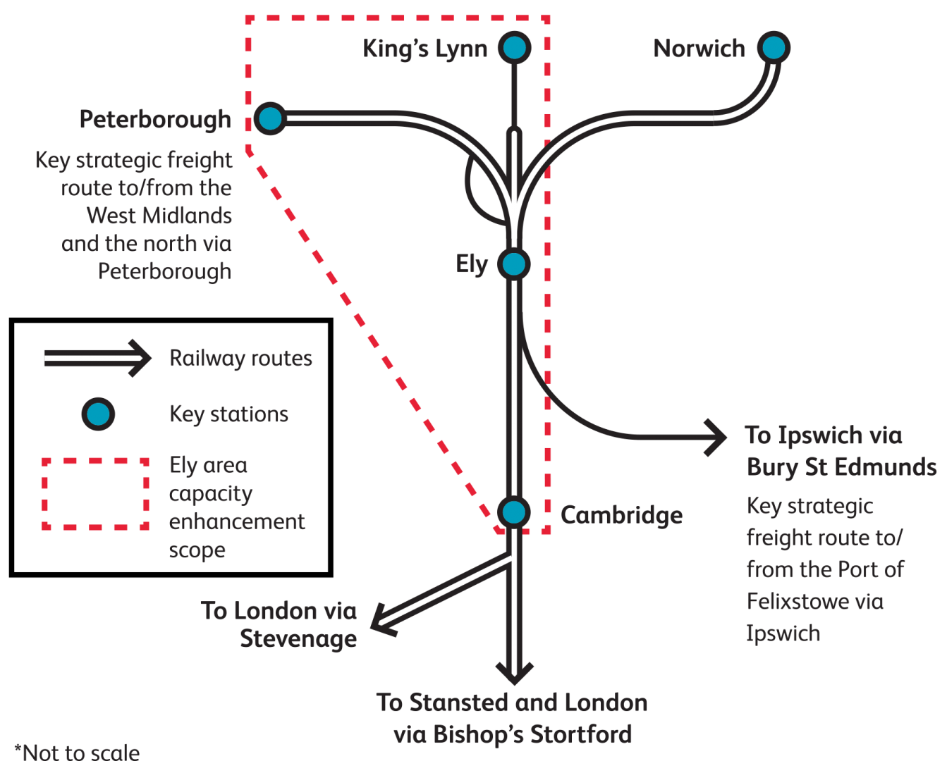 map of ely area tracks